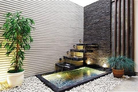 kolam minimalis   jasa pembuatan taman dan kolam murah